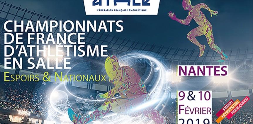 COMPÉTITIONS EN SALLE DU WEEK-END : FRANCE ESPOIRS  ET NATIONAUX- RÉGIONAUXMINIMES