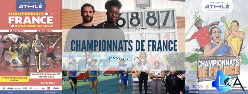 CHAMPIONNATS DE FRANCE: SEPT MÉDAILLES ET UN RECORD DEFRANCE
