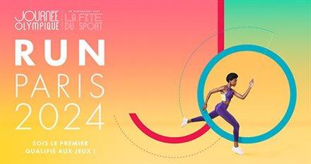 Viens gagner ton dossard pour le marathon des JO de Paris 2024 lors de la journée Olympique du 23 juin!