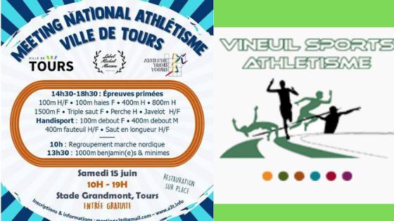 Meetings de Vineuil et de Tours, les prochains rendez-vous du Challenge MichelMusson