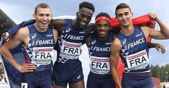 Amaury revient avec l'argent des championnats d'EuropeU23