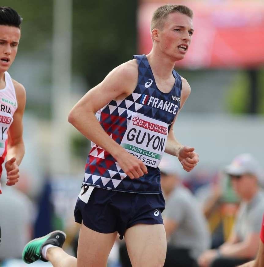 Baptiste Guyon revient avec la 10ème place des Europe U20, Paul Lada disqualifié avec le4x100m