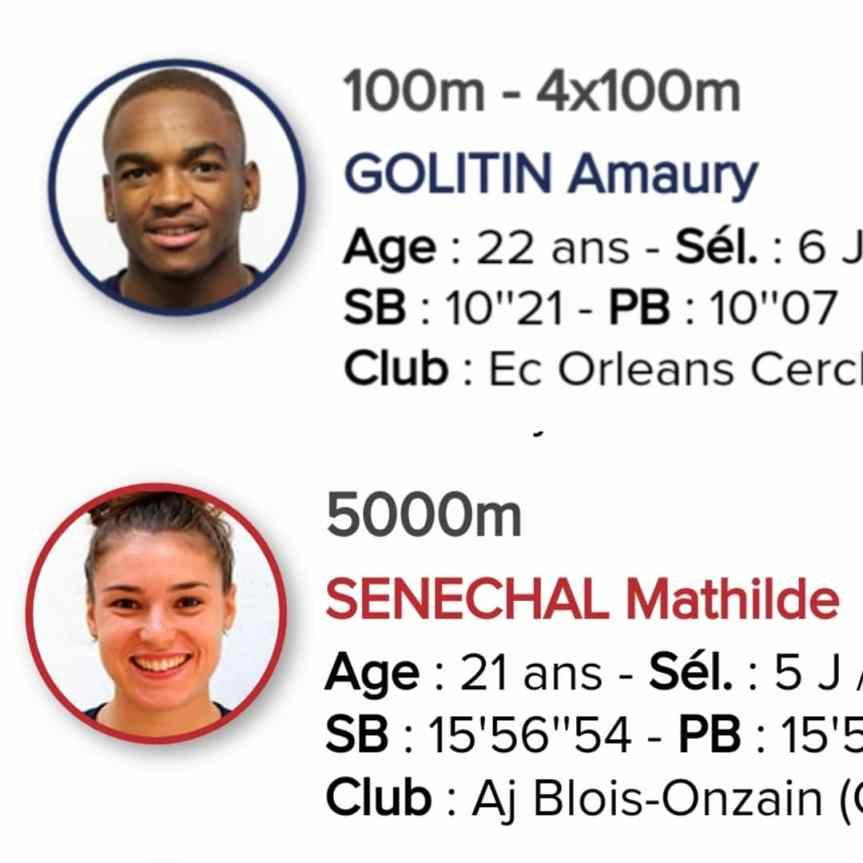Amaury Golitin rejoint Mathilde Sénéchal en équipe de France u23!