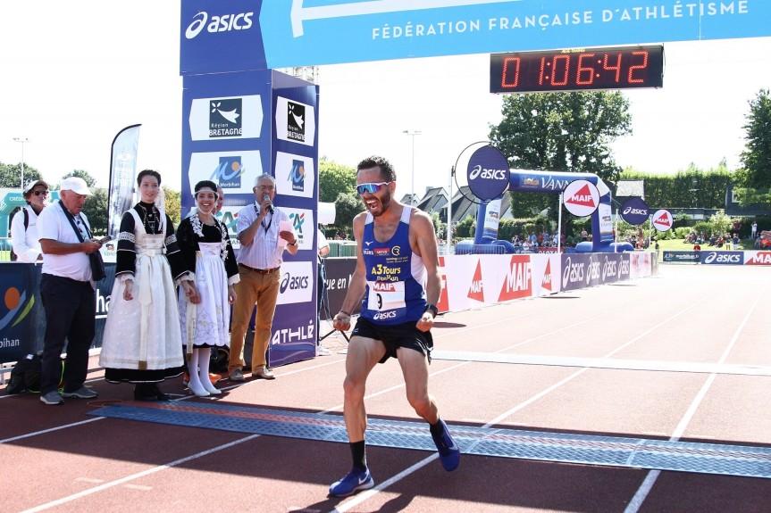 Julien Devanne champion de France dusemi-marathon