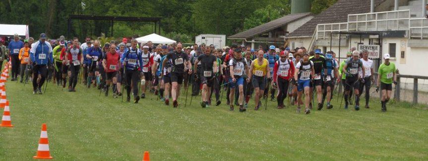 Marche Nordique chronométrée au cross deSeresville